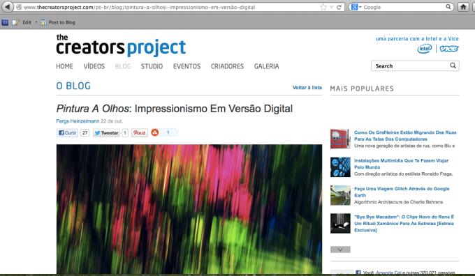 the crators project