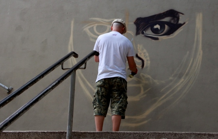 Graffiti na estação de  trem SP  | Ph Elza Cohen041-IMG_8756